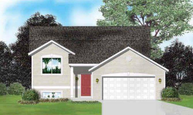Raised Ranch House Plans