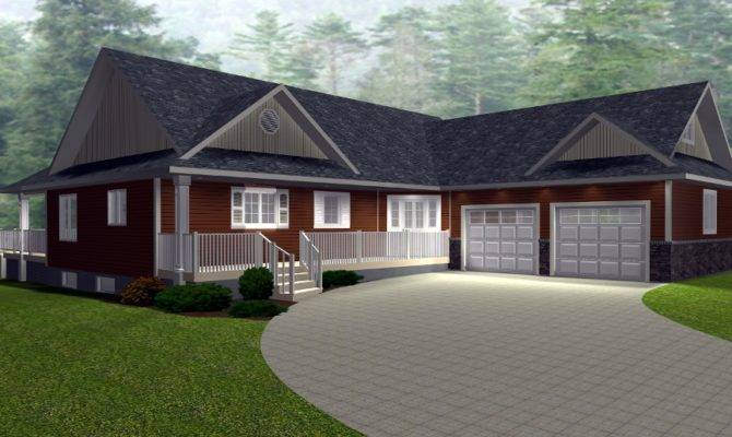 Raised Ranch Style House Plans Basements
