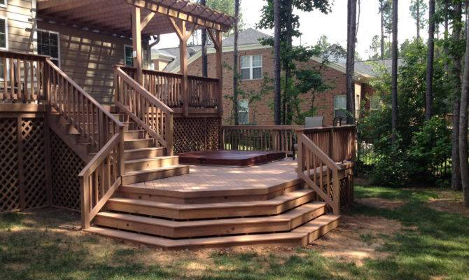 Raleigh Multi Level Decking More Than Just Beautiful