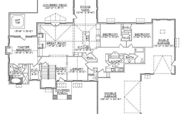 The 28 Best Rambler House Plans With Walkout Basement House Plans