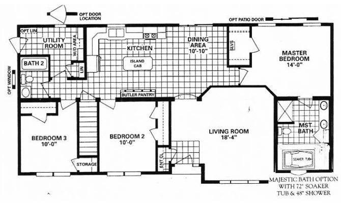 Rambler House Plans Floor Basement Search