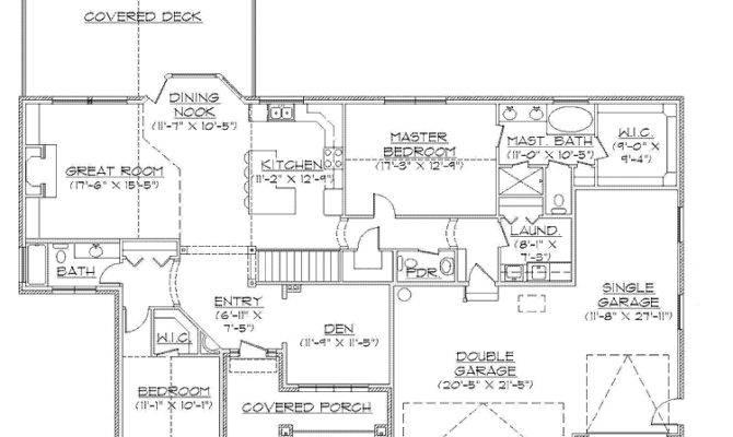 Rambler House Plans Walkout