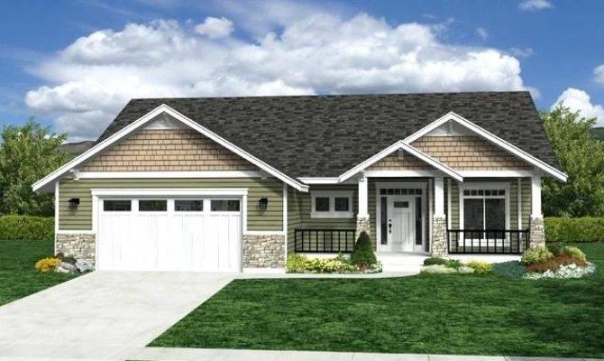 Rambler Style House Plans Ranch