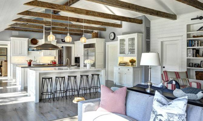 Ranch Cottage Transitional Coastal Interiors Home