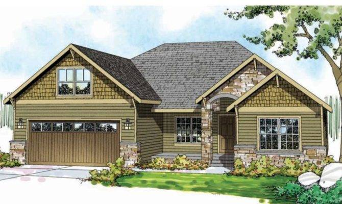 Ranch Craftsman House Plans Design Ideas
