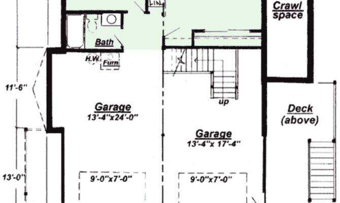 Ranch Finished Basement House Plans Home Design