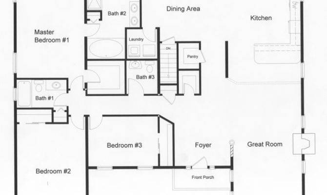 Ranch Floor Plans Modular Home Top Rba Homes