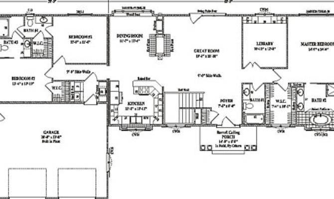 Ranch Floor Plans Split Bedrooms Gurus