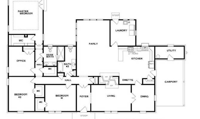 Ranch Home Floor Plans Popular Addition House Designs