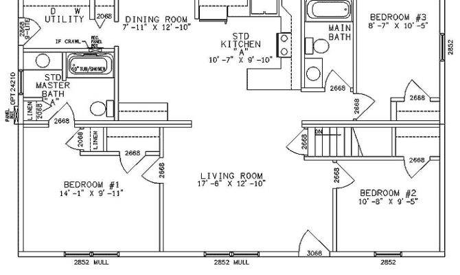 Ranch Home Plans One Story House