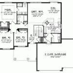 Ranch Home Plans Open Floor