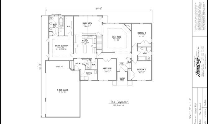 Ranch Homes Custom Two Story