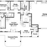 Ranch Homes Plans Bedroom Style House