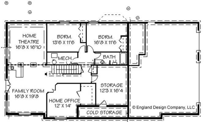 Ranch House Basement Floor Plans Design