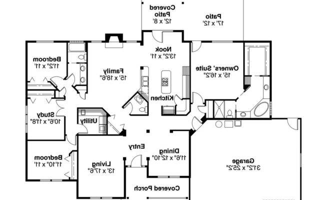 Ranch House Floor Plans Home Deco