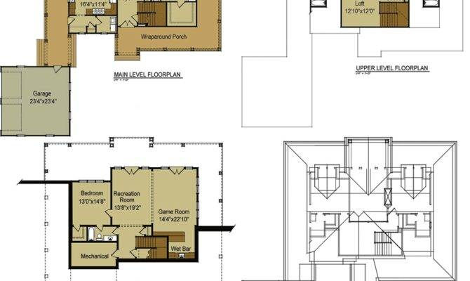 Ranch House Floor Plans Loft