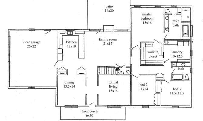Ranch House Floor Plans Thecelebritypix