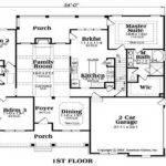 Ranch House Floor Plans Unique American Porch