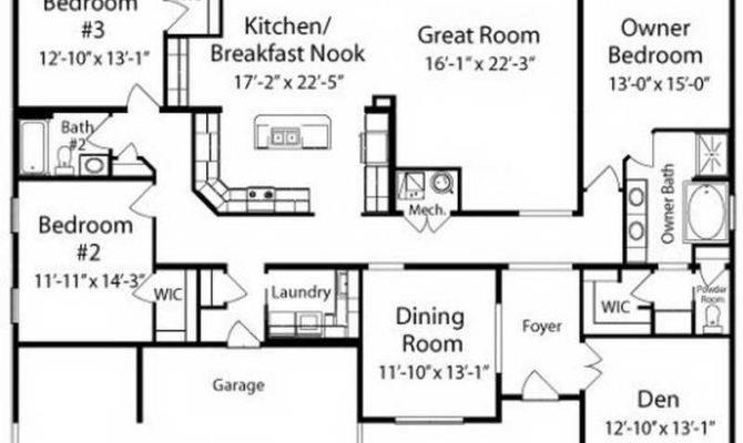 Ranch House Floor Plans Unique American
