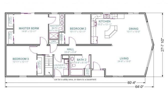 Ranch House Floor Plans Walkout Basement Elegant