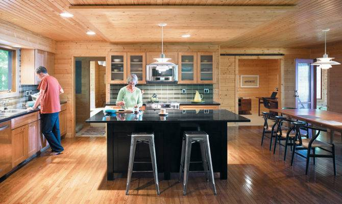 Ranch House Kitchen Renovation Their Lakeside Retreat