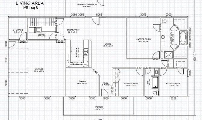 Ranch House Plan Basement