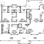 Ranch House Plan Bedrooms Bath