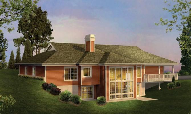 Ranch House Plan Color Plans