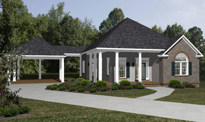 Ranch House Plan Front Home Plans More