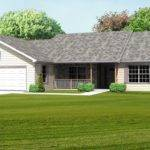 Ranch House Plan Single Level Great Room Basement