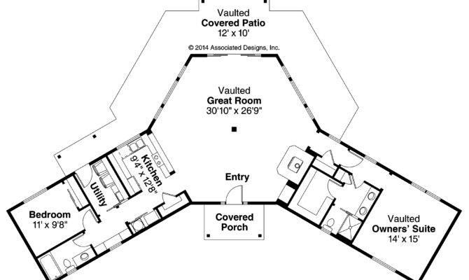 Ranch House Plans Alder Creek Associated Designs