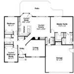 Ranch House Plans Bingsly Associated Designs