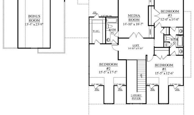 Ranch House Plans Bonus Room Above Garage New