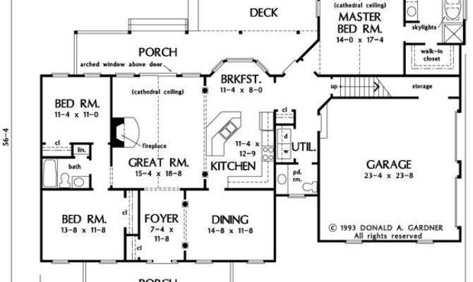 Ranch House Plans Bonus Room Above Garage Unique