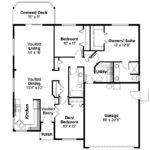 Ranch House Plans Dexter Associated Designs