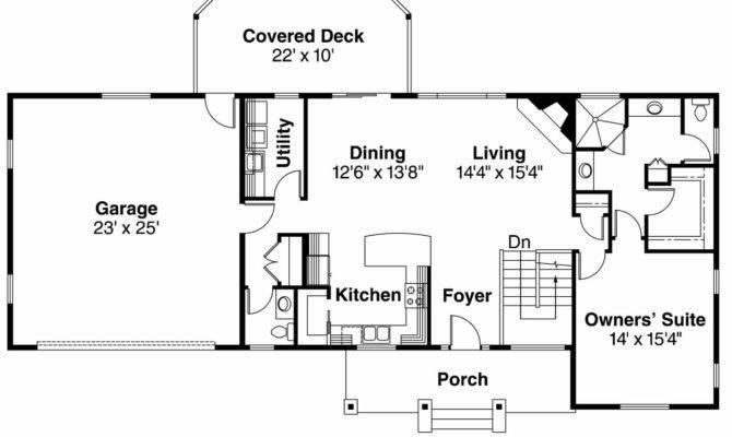 Ranch House Plans Gatsby Associated Designs