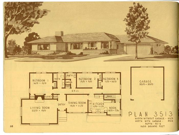 Ranch House Plans Hecho