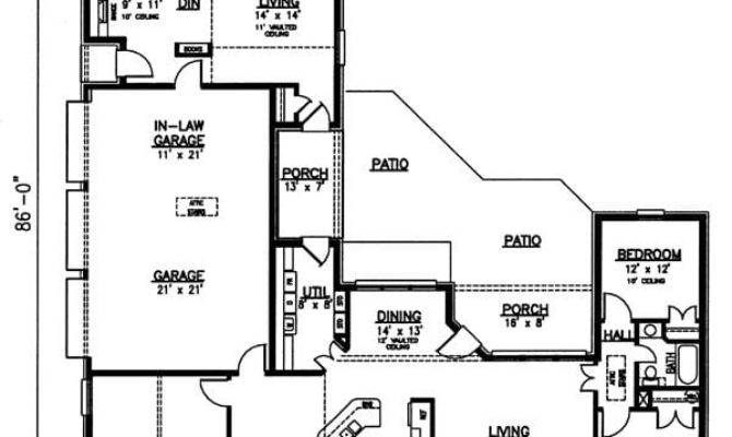 Ranch House Plans Inlaw Apartment Best