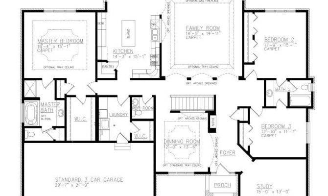 Ranch House Plans Jack Jill Bathroom New