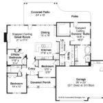 Ranch House Plans Jamestown Associated Designs
