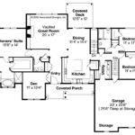 Ranch House Plans Manor Heart Associated Designs