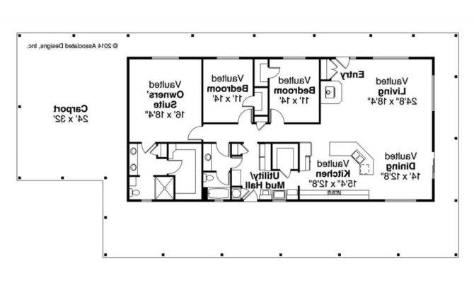 Ranch House Plans Mudroom