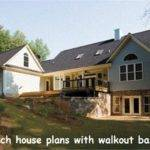 Ranch House Plans Walkout Basement Amazing Homes