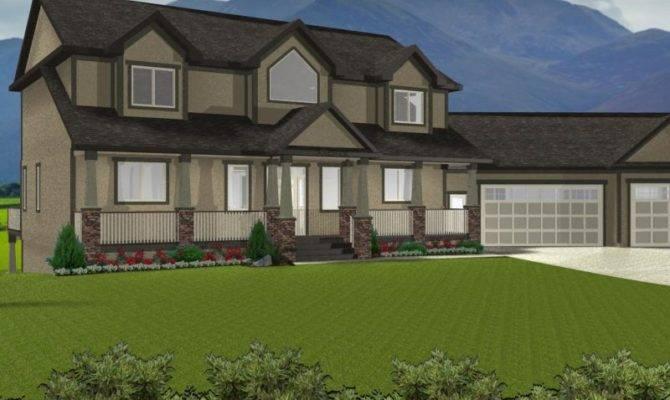 Ranch House Plans Walkout Basement Danutabois