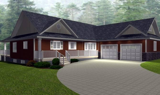 Ranch House Plans Walkout Basement New