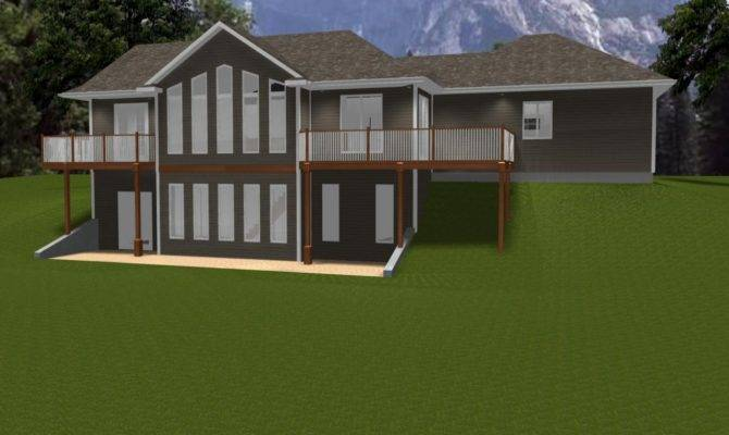 Ranch House Plans Walkout Basement