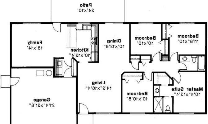 Ranch House Plans Weston Associated Designs