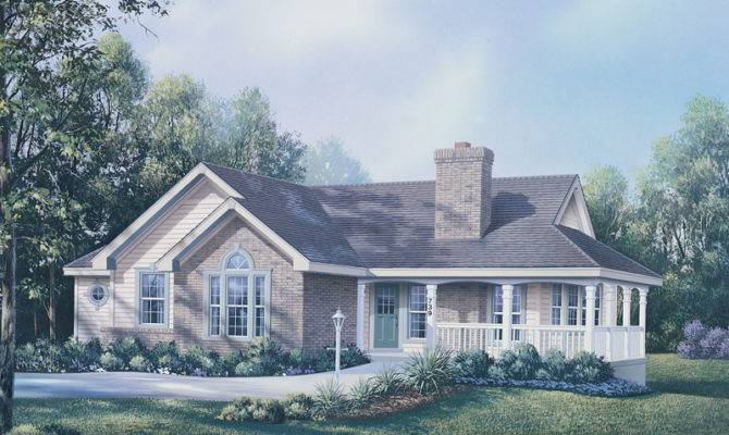 Ranch House Plans Wrap Around Porch