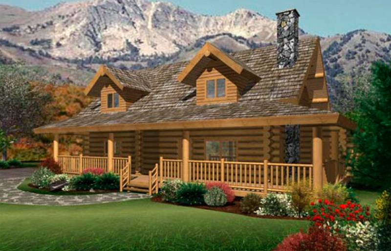 Ranch Log Homes Floor Plans Bee Home Plan Decoration Ideas House
