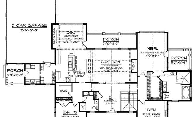 Ranch Open Floor Plan Home Pinterest